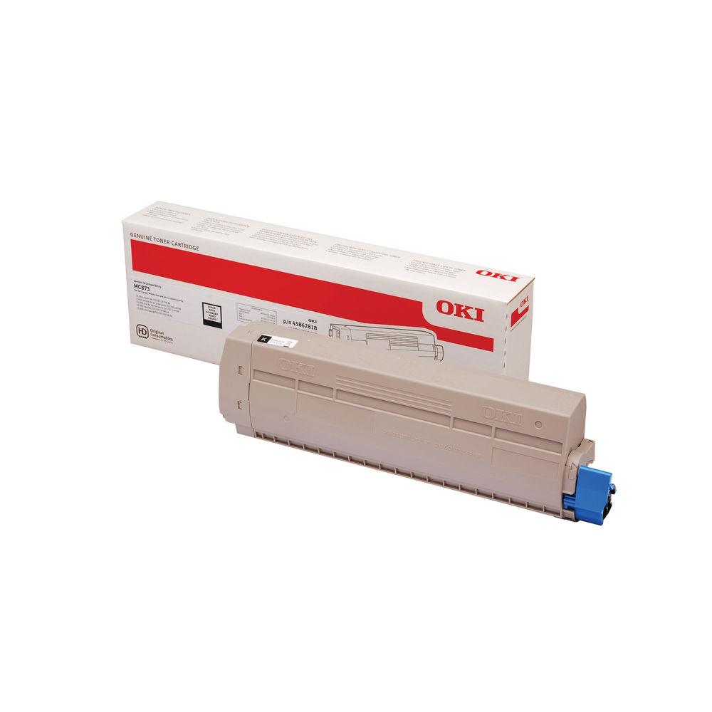 Oki Black Toner Cartridge - High Capacity 45862818