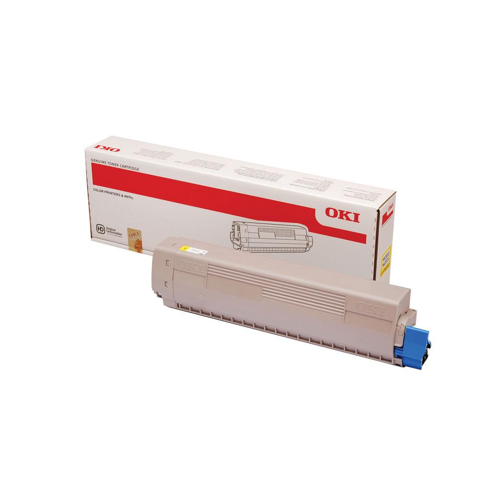 Oki Yellow Toner Cartridge - 45862837