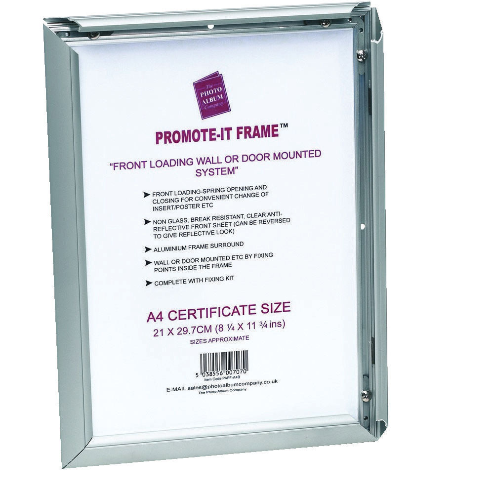 TPAC A1 Promote-It Aluminium Frame – PAPFA1B