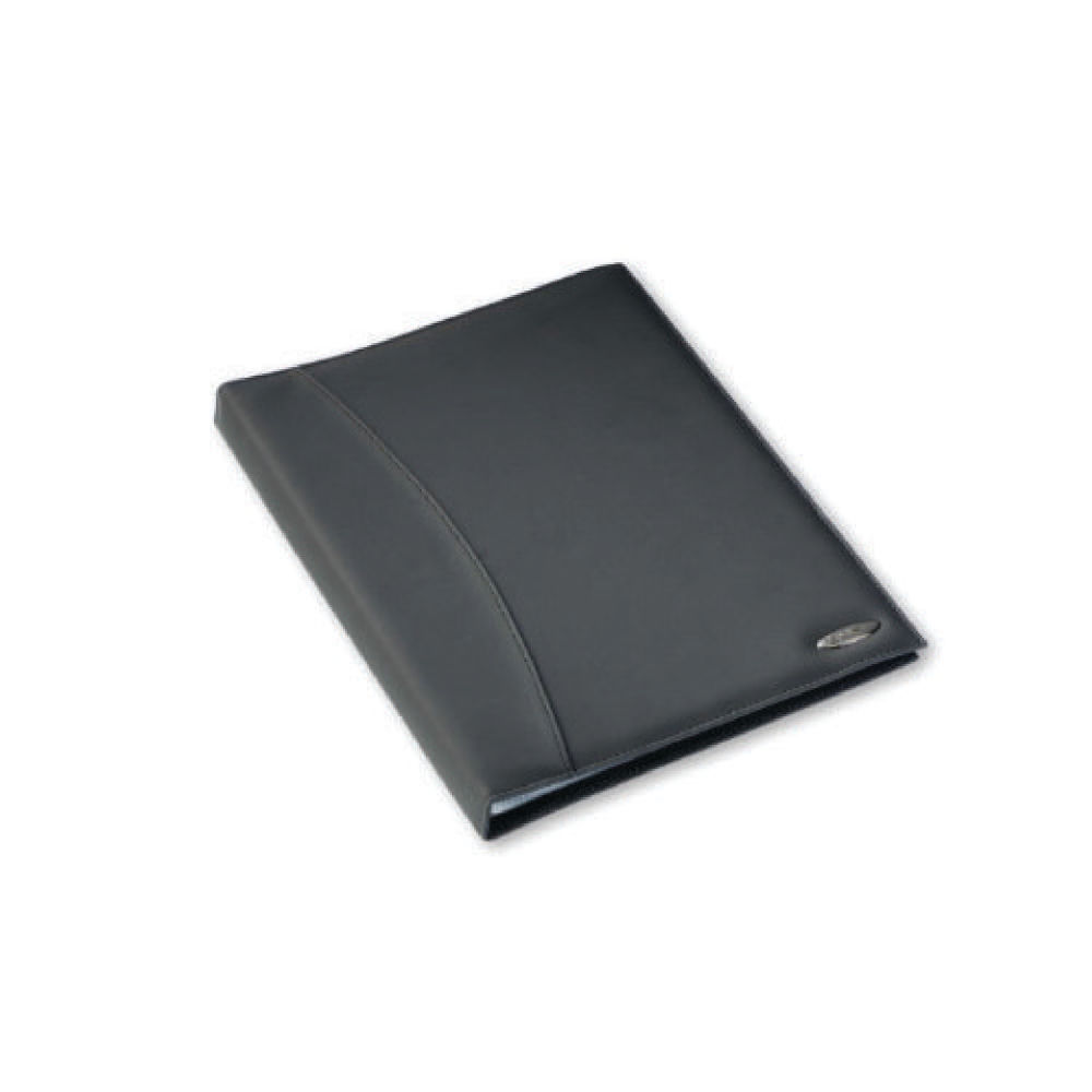 Rexel A4 Black Soft Touch 36 Pocket Display Book - 2101189