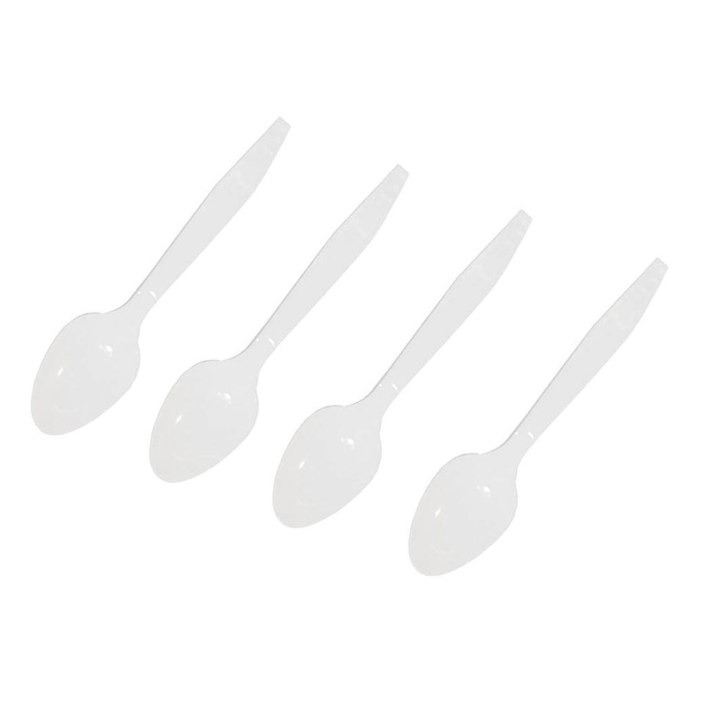 Caterpack White Disposable Plastic Teaspoon (Pack of 1000) RY03840