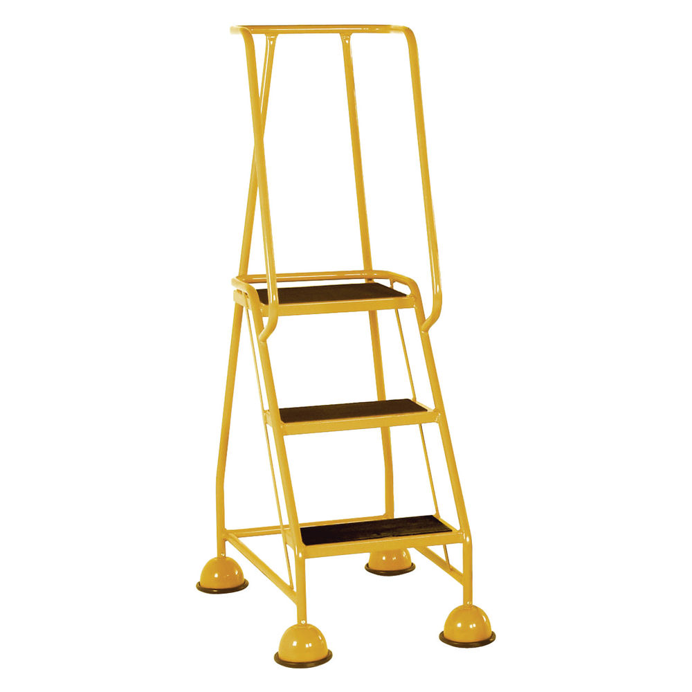 Yellow 3 Tread Step Ladder - 385137