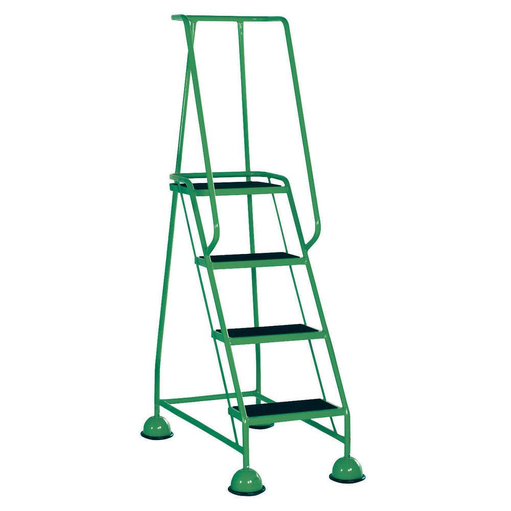 Green 4 Tread Step Ladder - 385140