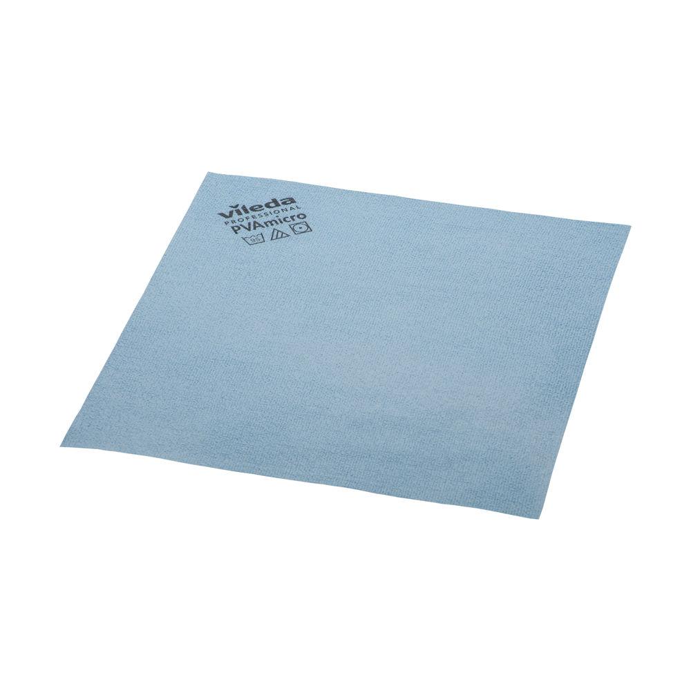 Vileda Blue PVA Micro Cloth, Pack of 5 - 143585