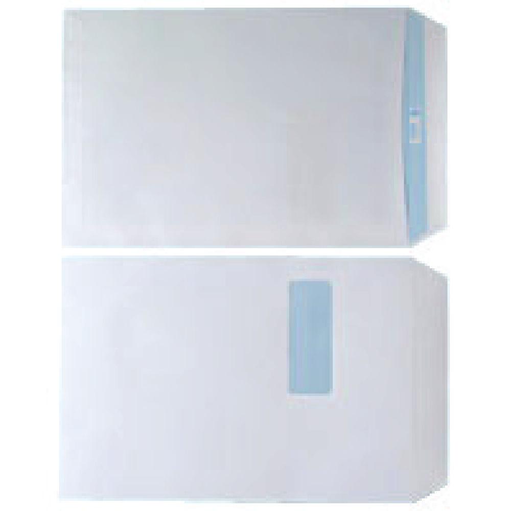 White C4 Self Seal Window Envelopes 90gsm, Pack of 250 - WX3501