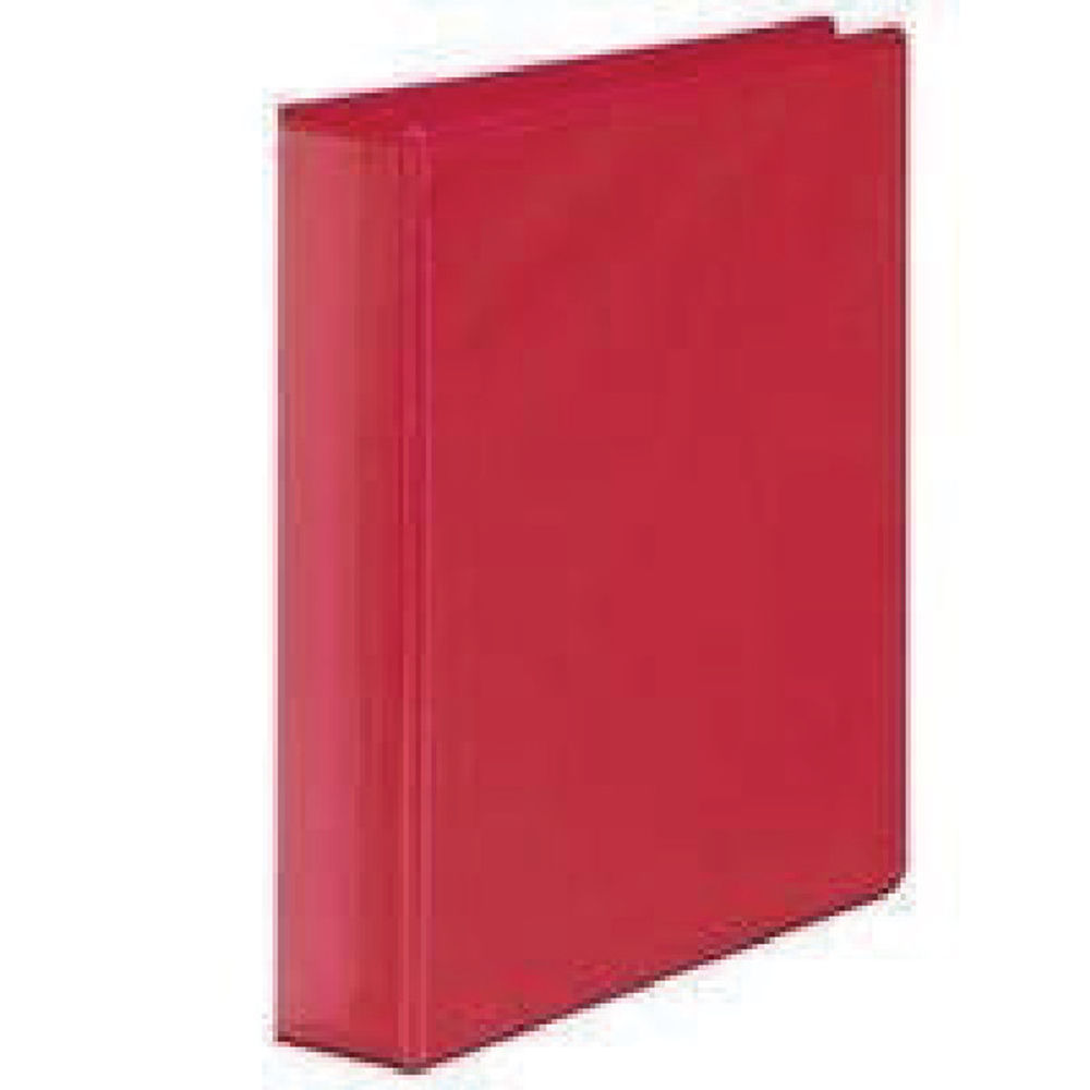 Red A4 50mm 4 D-Ring Presentation Ring Binders (Pack of 10) - WX47658