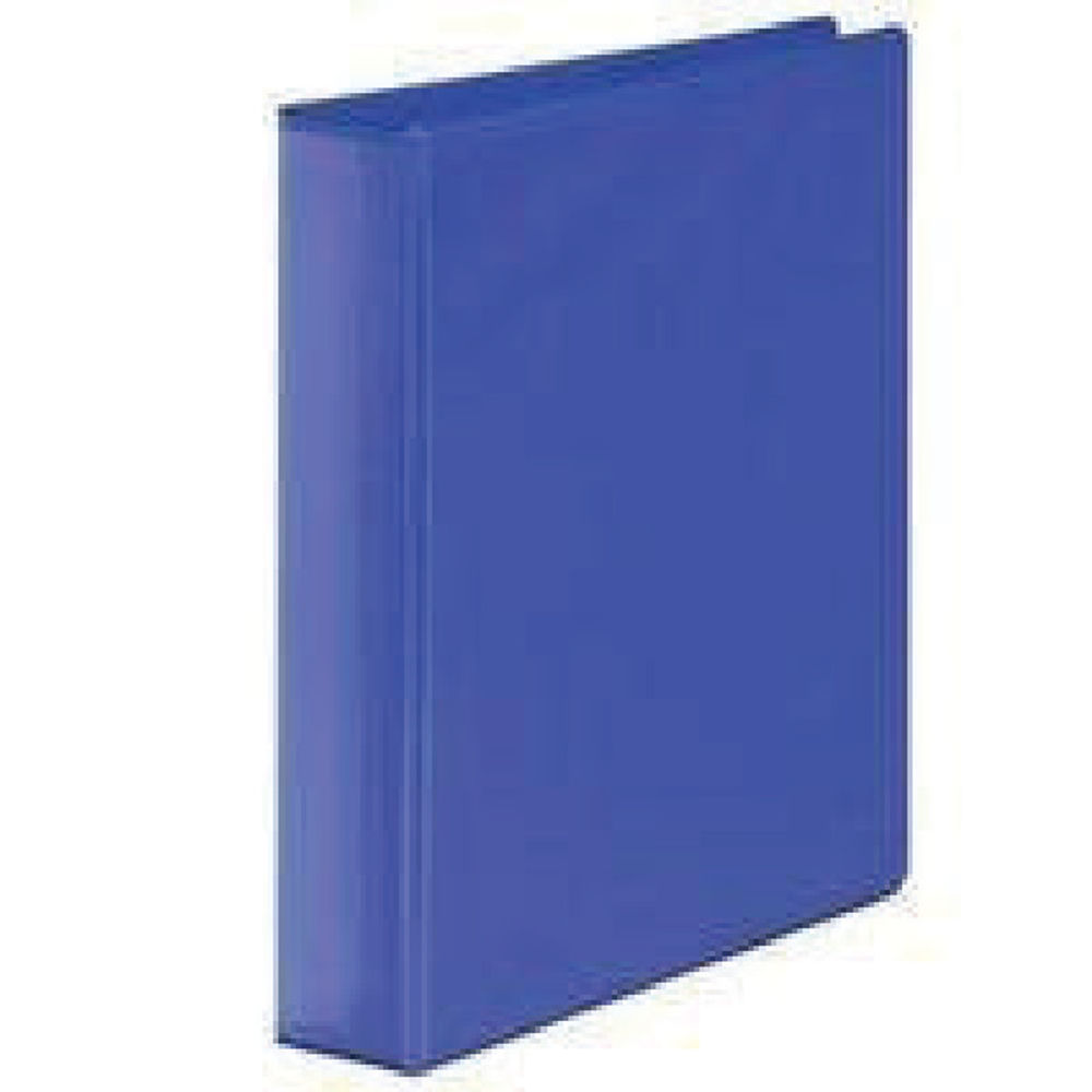 Blue A4 65mm 4 D-Ring Presentation Ring Binders, Pack of 10 - WX70298