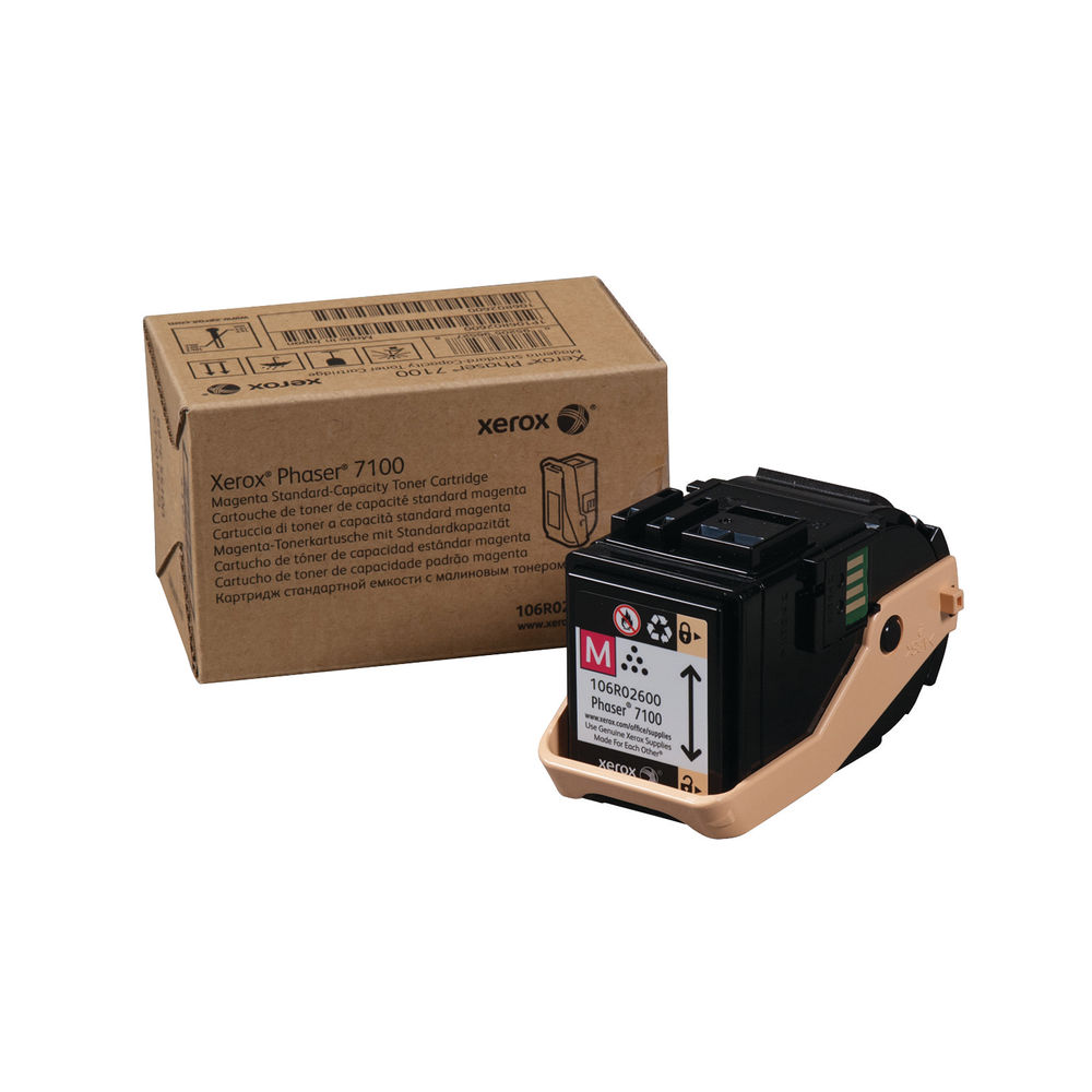 Xerox Phaser 7100 Magenta Toner Cartridge - 106R02600