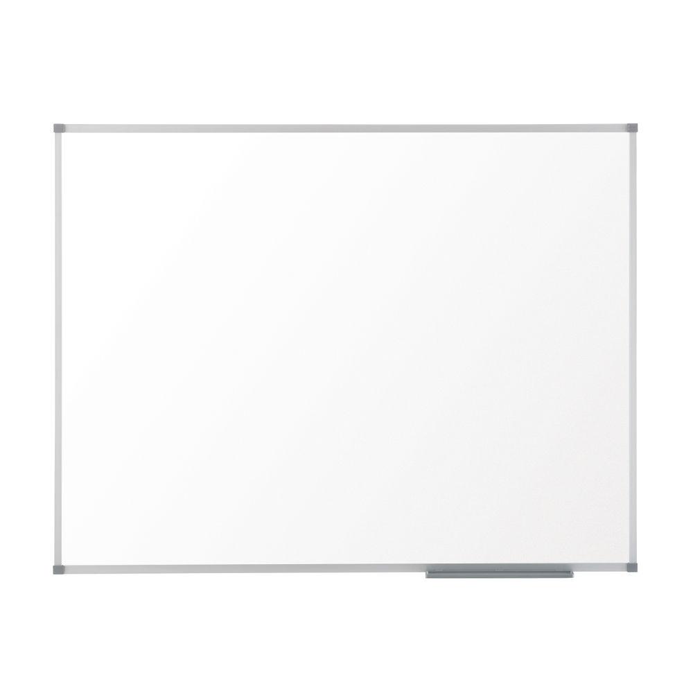 Nobo Basic Melamine Non-Magnetic Whiteboard, 1800x1200mm - 1905205