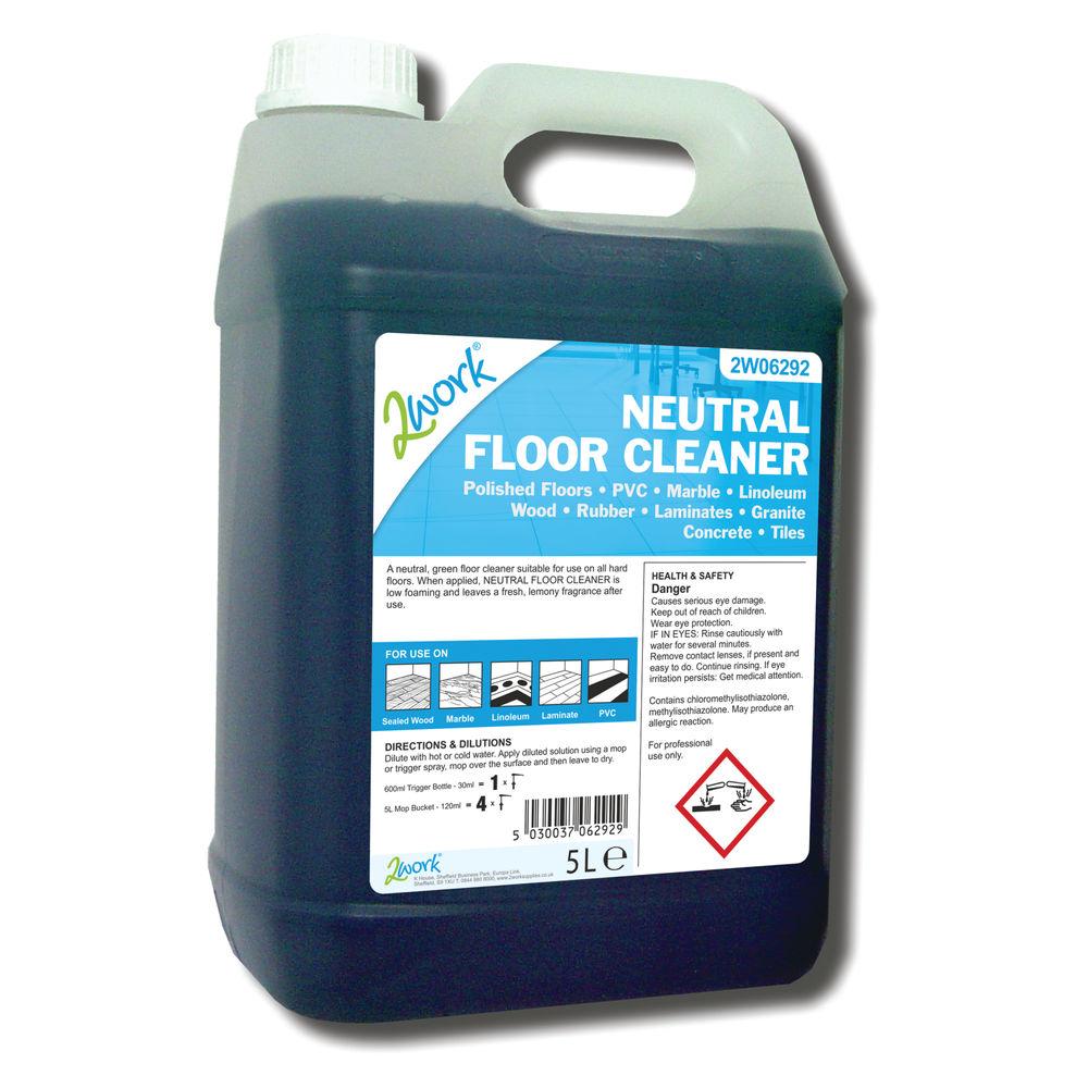 2Work Neutral Floor Cleaner (5 Litre) - 498 TFN