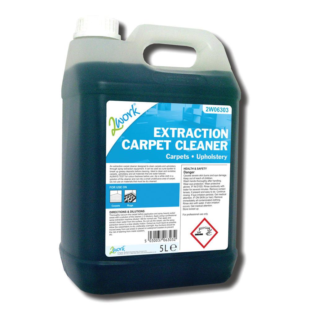 2Work Extraction Carpet Cleaner 5 Litre - 306 TFN