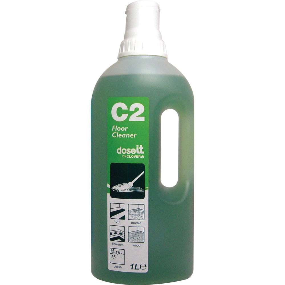 DoseIT C2 Floor Cleaner - 1 Litre (Pack of 8) - 122 EON