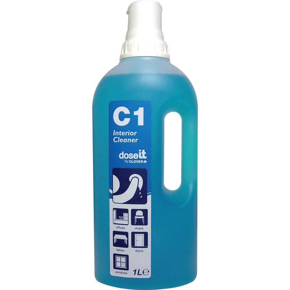 DoseIT C1 Multipurpose Cleaner - 1 Litre (Pack of 8) - 381 EON
