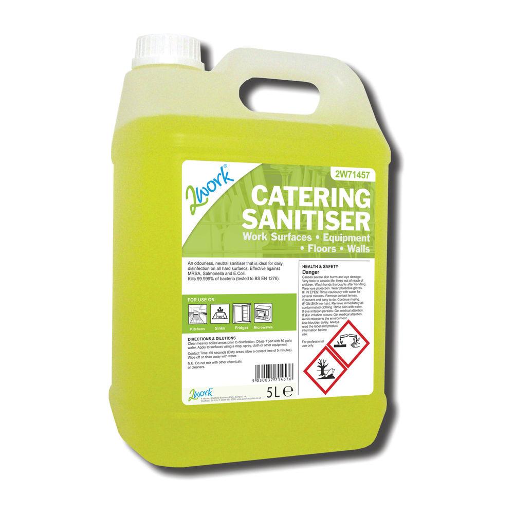 2Work Catering Sanitiser 5 Litre - 201TFN