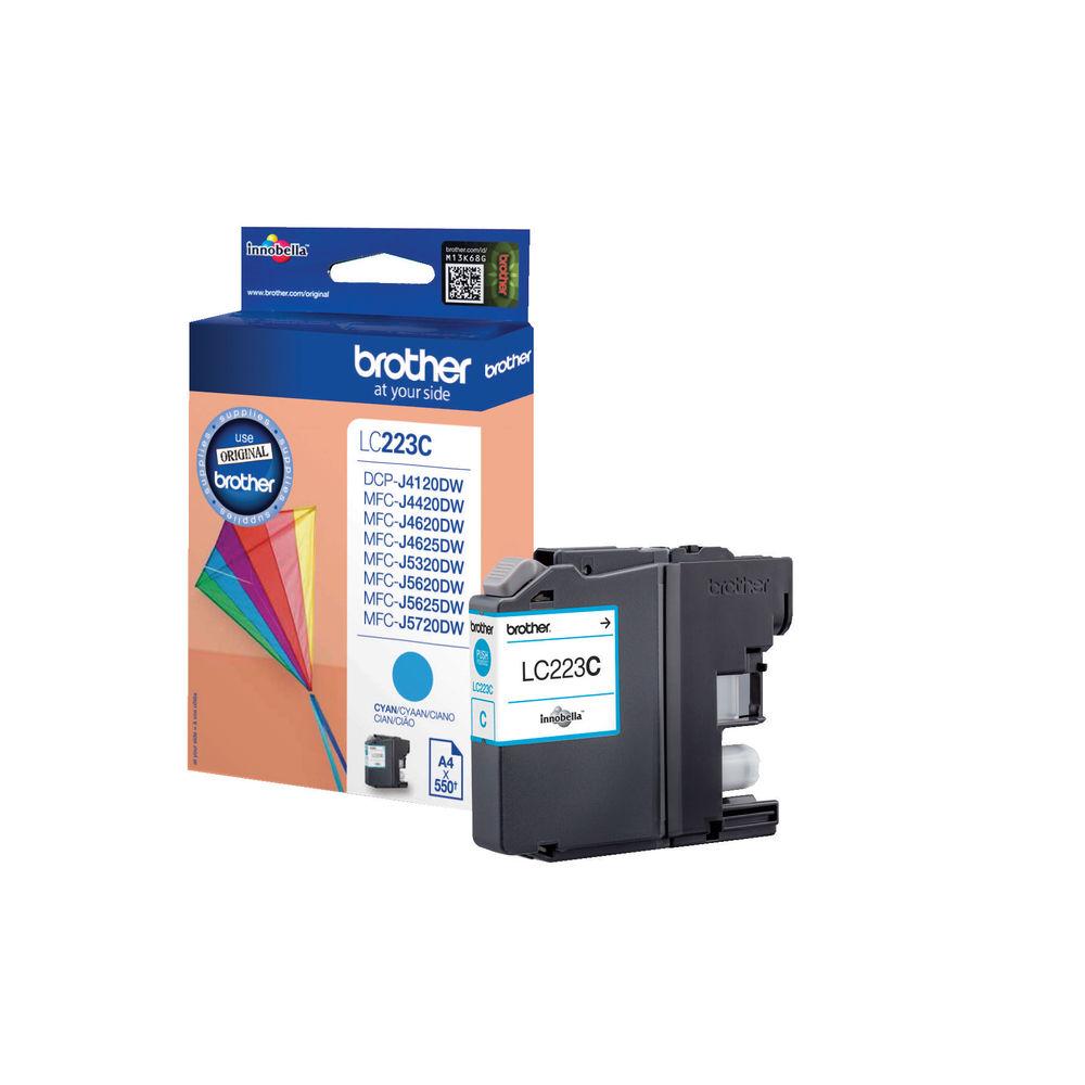 Brother LC223C Cyan Ink Cartridge - LC223C