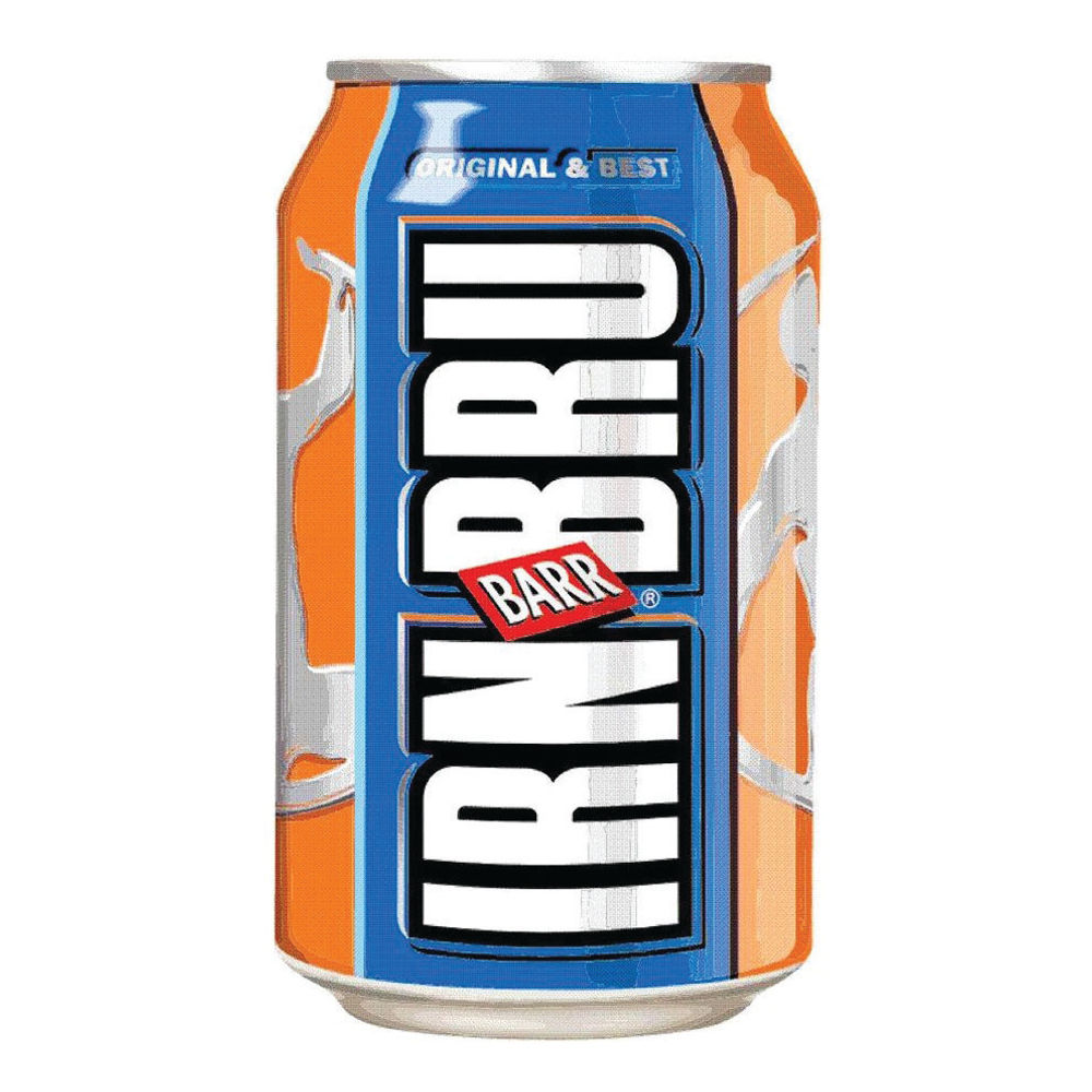 BARR Irn Bru 330ml Cans, Pack of 24 - 402034