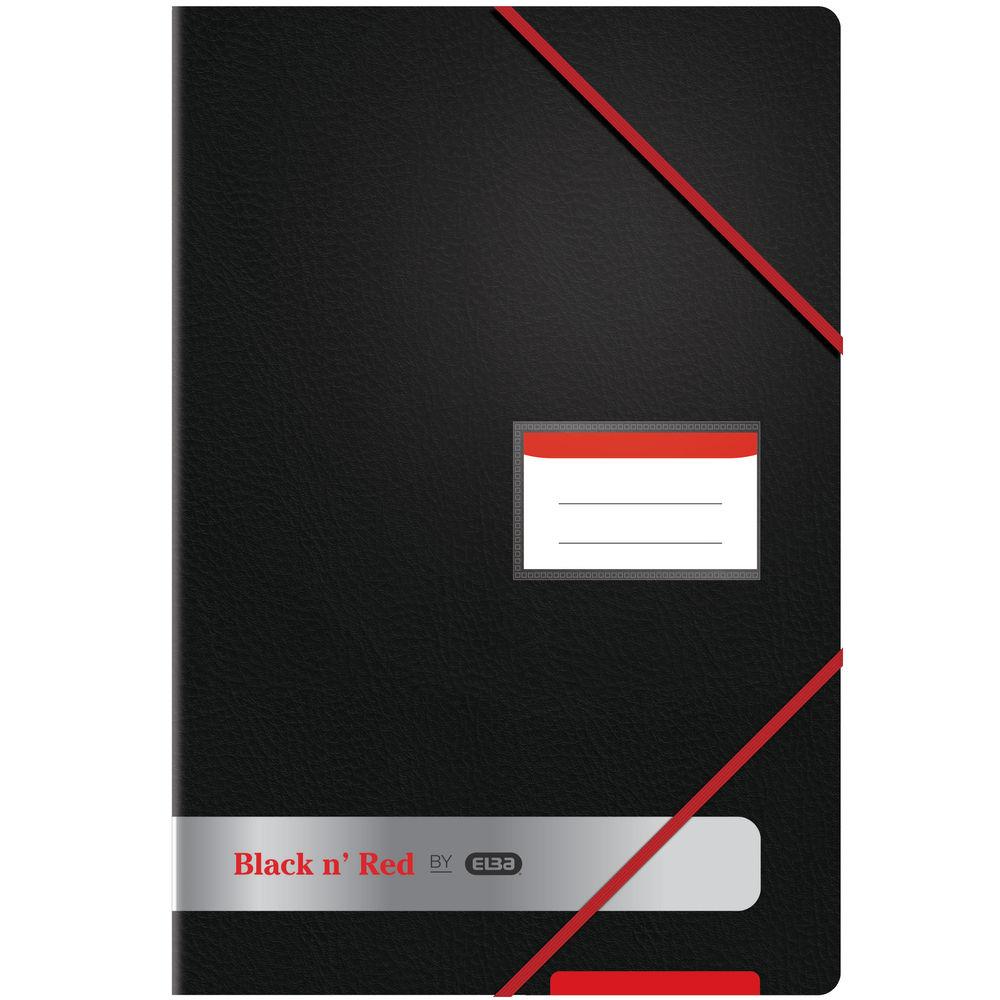 Black n Red A4 20 Pocket Display Book - 400050725