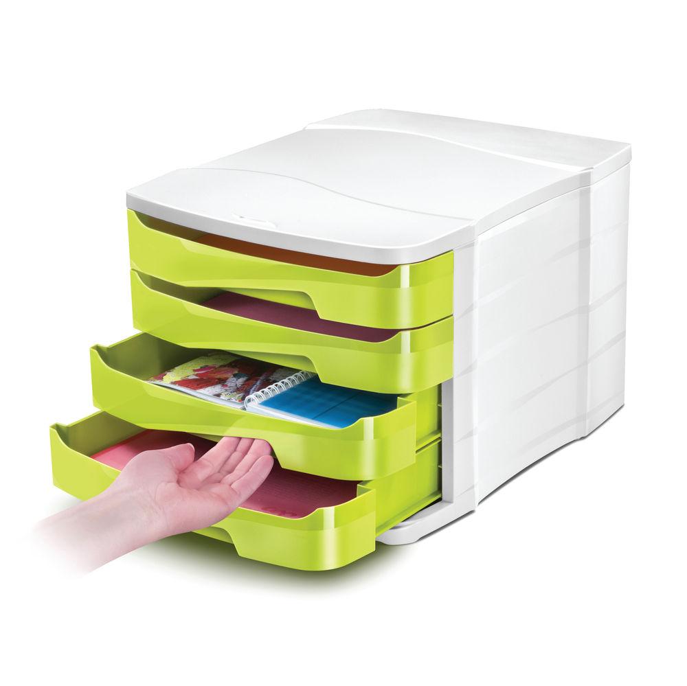 CEP Pro Green Gloss 4 Drawer Set | 394BI G GREEN