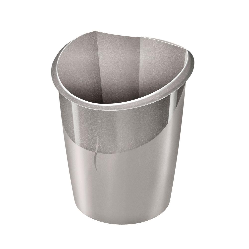 CEP 15 Litre Taupe Ellypse Waste Bin - 1003200201