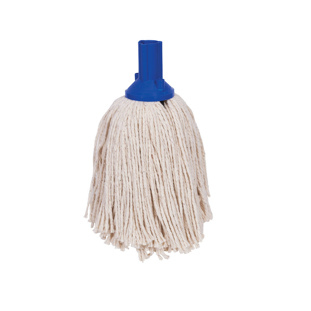 Exel Blue Mop Heads, Pack of 10 - 102268
