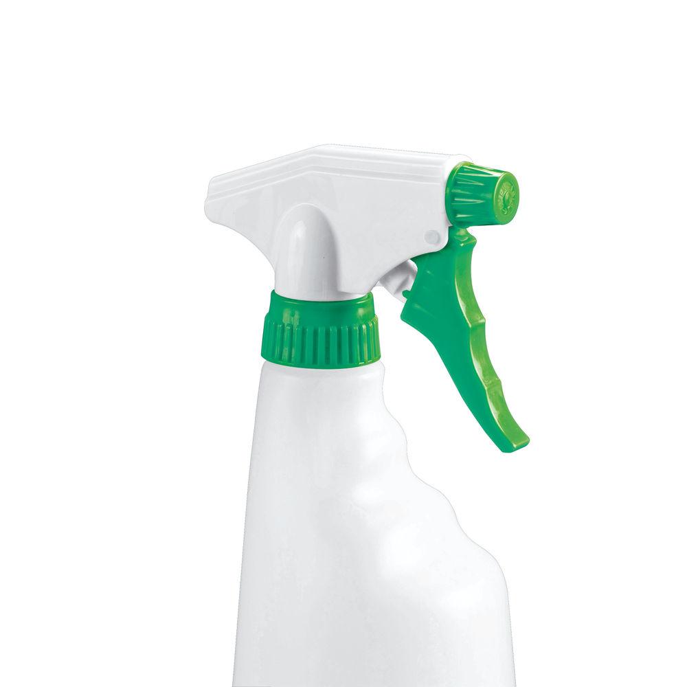 2Work Trigger Spray Refill Bottle Green, Pack of 4 - 101958