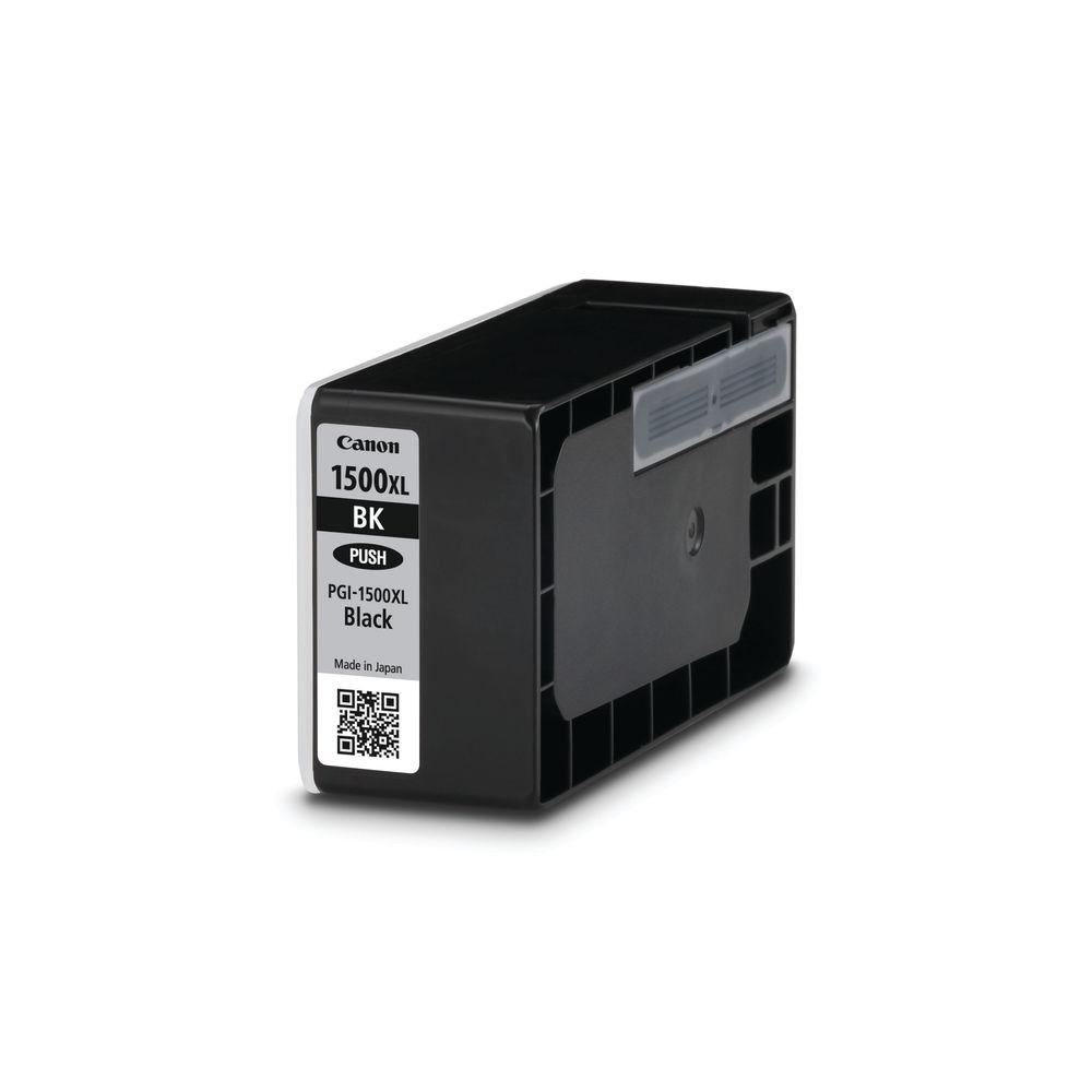 Canon PGI-1500XLBK Black Ink Cartridge - High Capacity PGI-1500XL BK