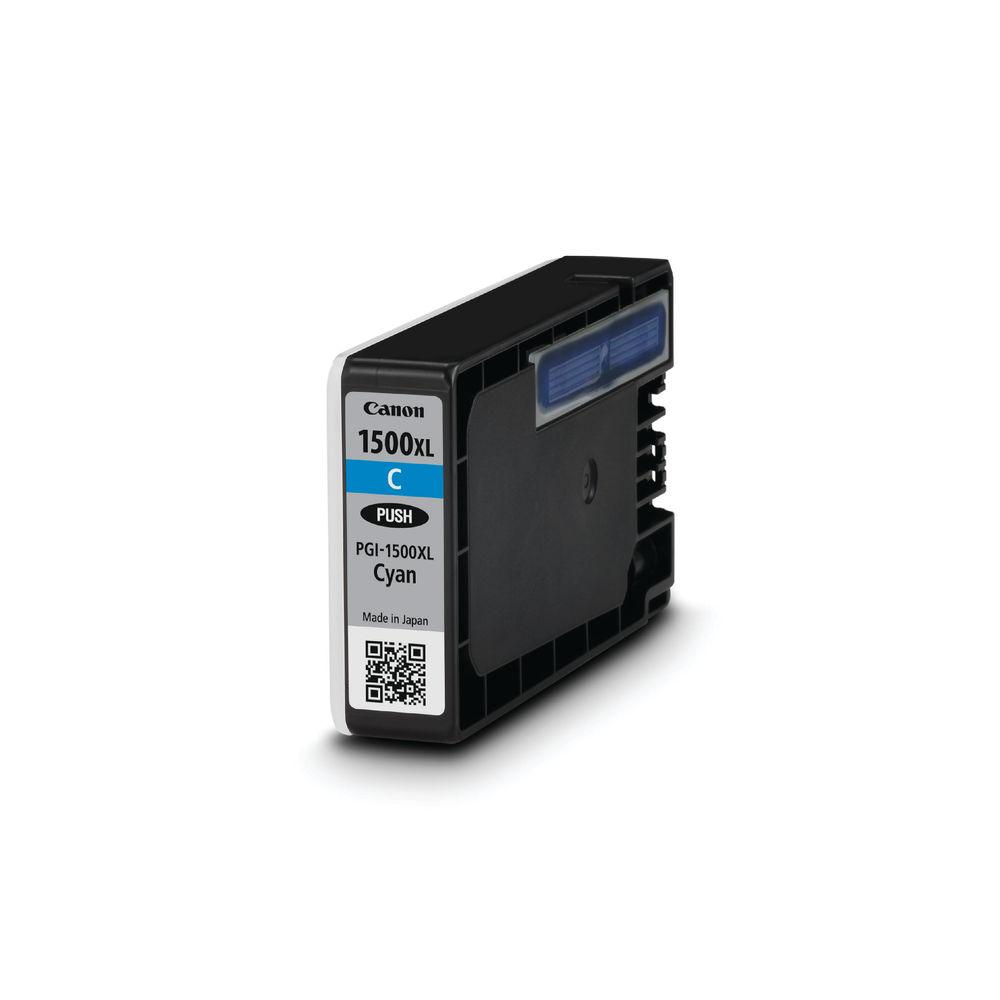 Canon PGI-1500XL High Capacity Cyan Ink Cartridge - PGI-1500XL C