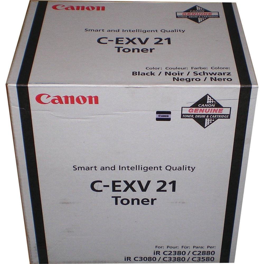 Canon C-EXV21 Black Toner Cartridge 0452B002