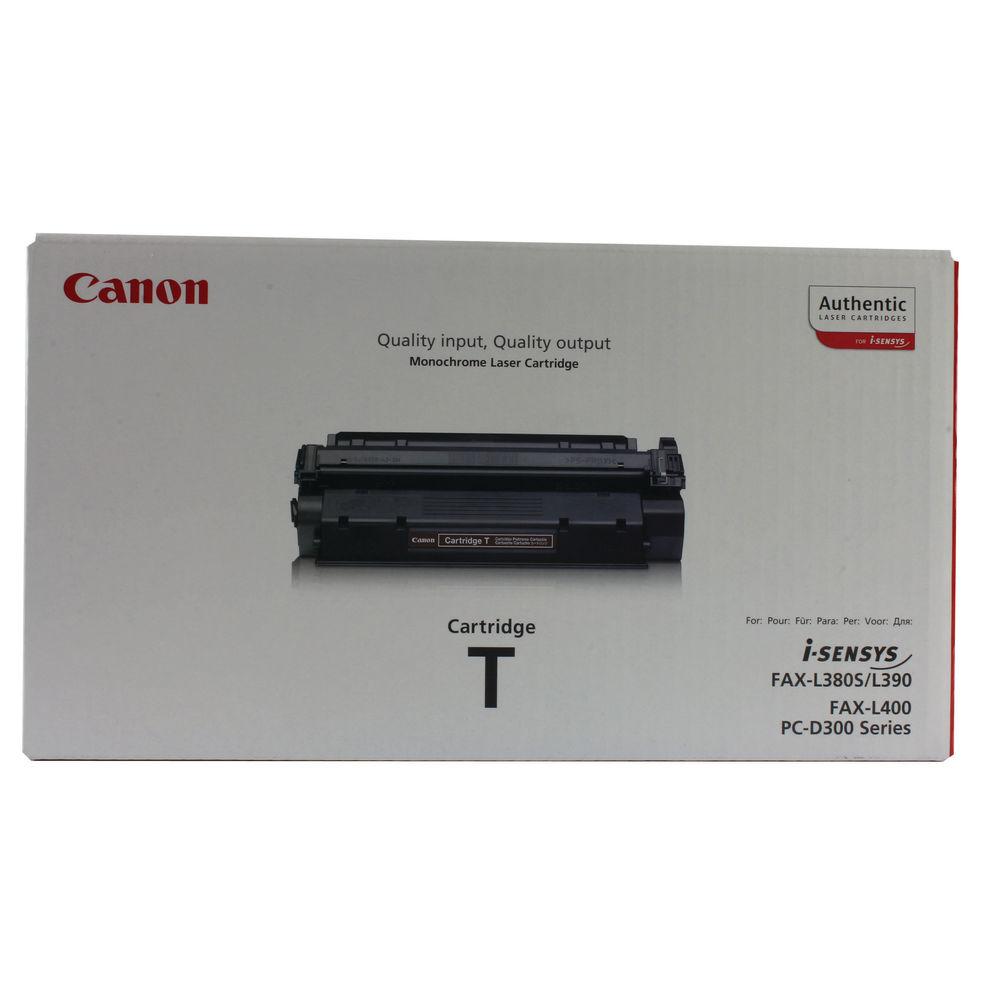 Canon T Black Fax Laser Toner Cartridge 7833A002