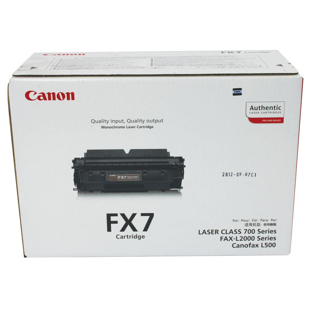 Canon FX7 Black Toner Cartridge - FX 7