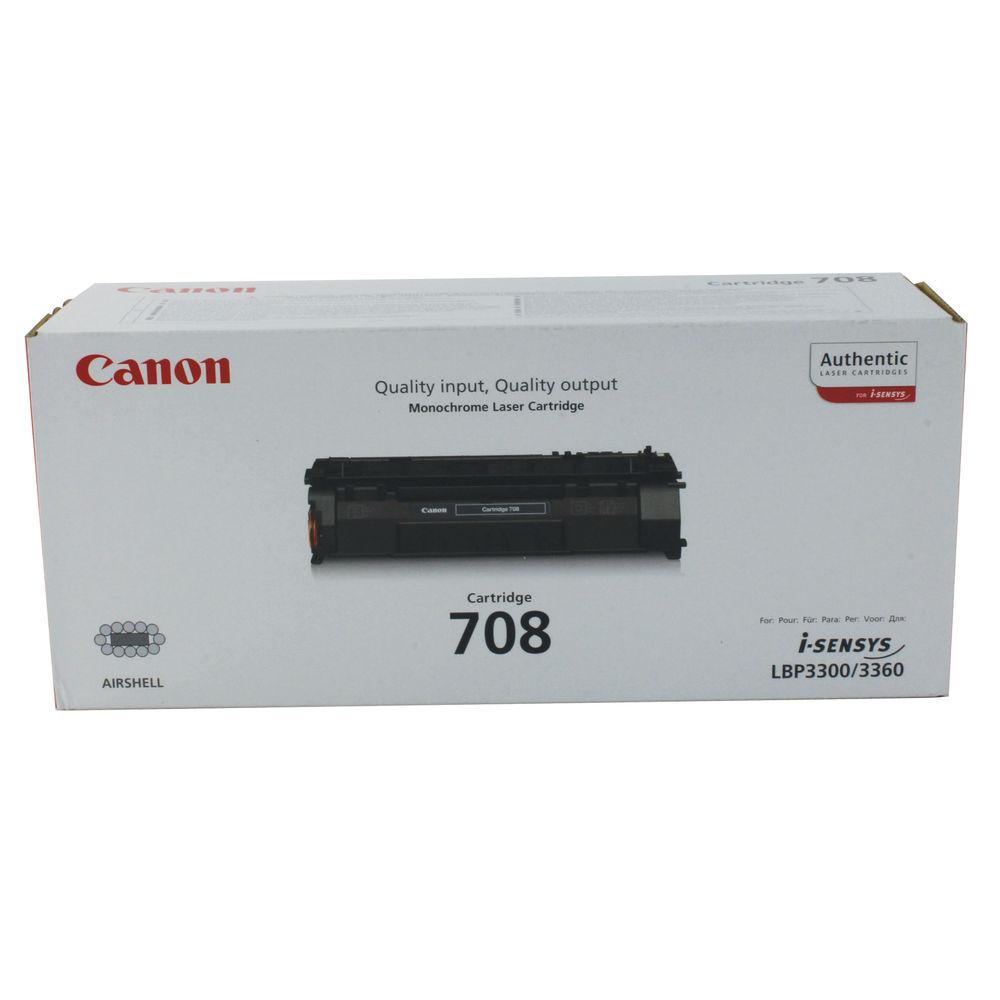 Canon 708 Black Laser Toner Cartridge - 0266B002AA