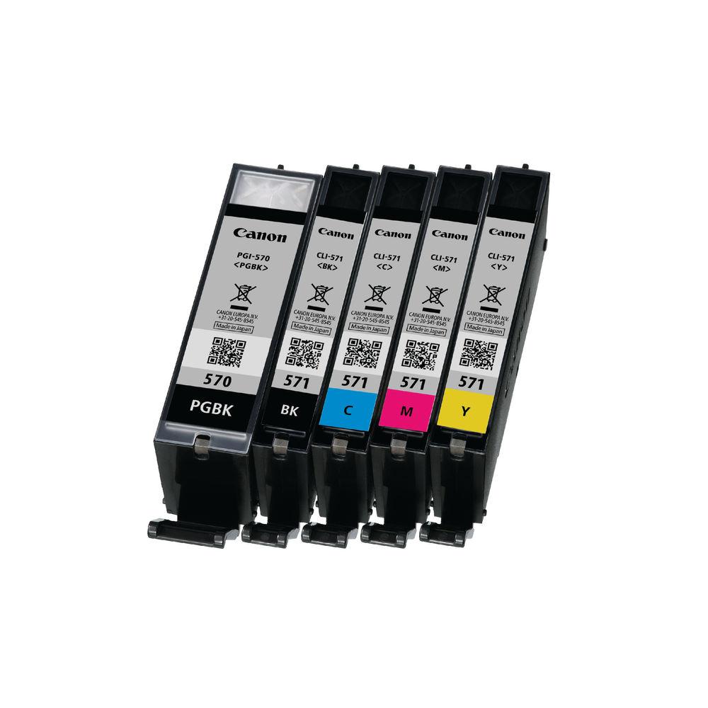 Canon PGI-570/CLI-571 Black Ink Combo Pack - 0372C004