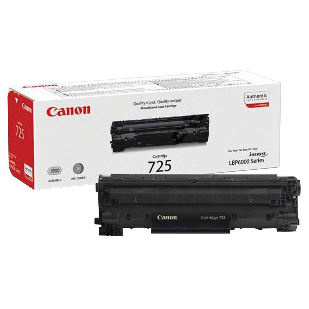 Canon 725 Black Toner Cartridge - 3484B002AA