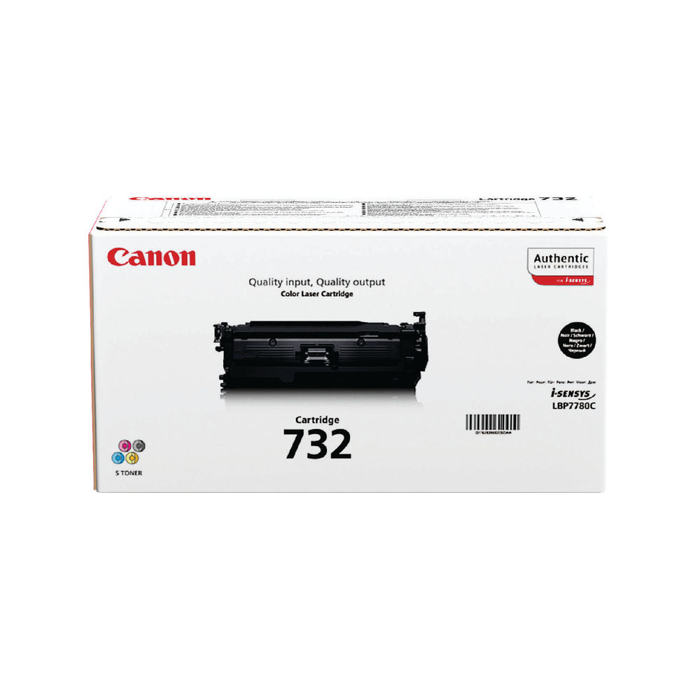 Canon 732H Black Toner Cartridge High Capacity 6264B002
