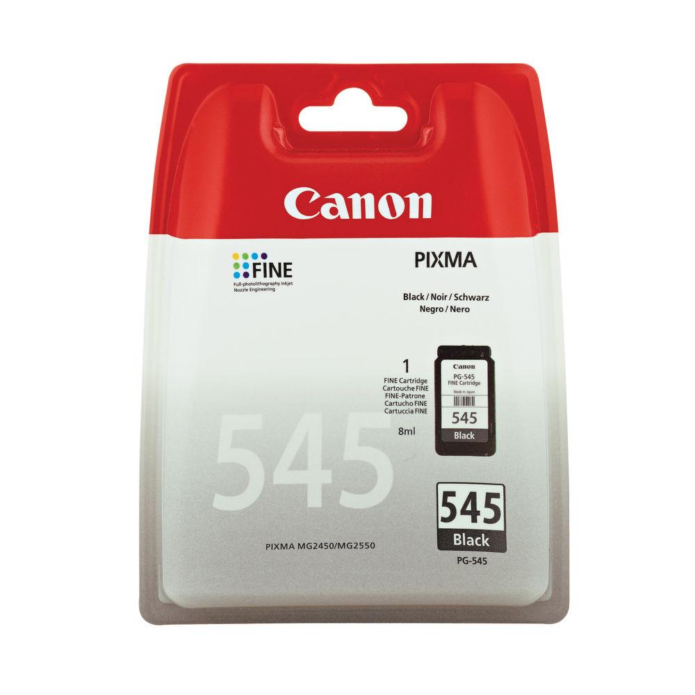 Canon PG-545 Black Inkjet Cartridge 8287B001