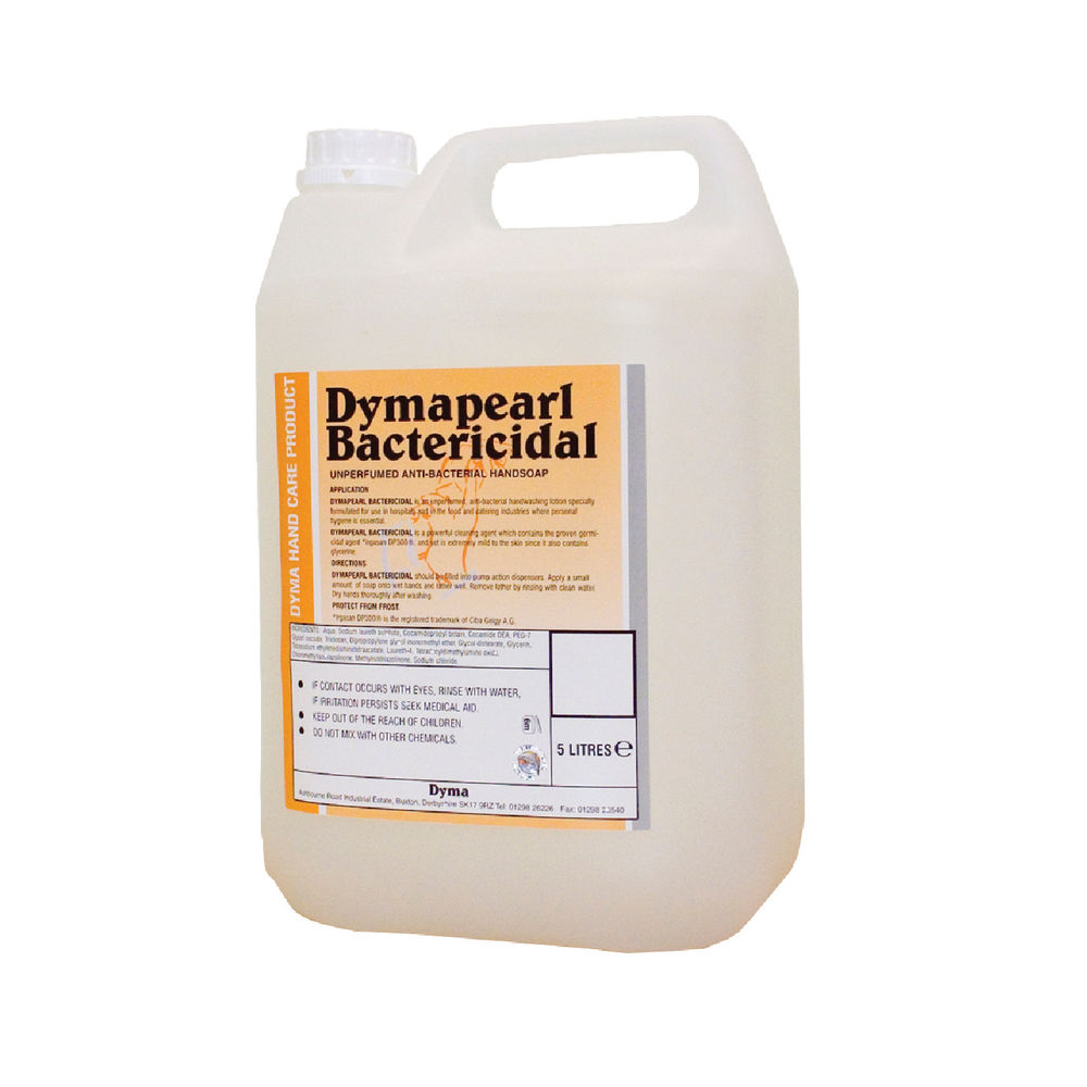 Dymapearl 5 Litre Antibacterial Hand Cleaner - KDCBAC