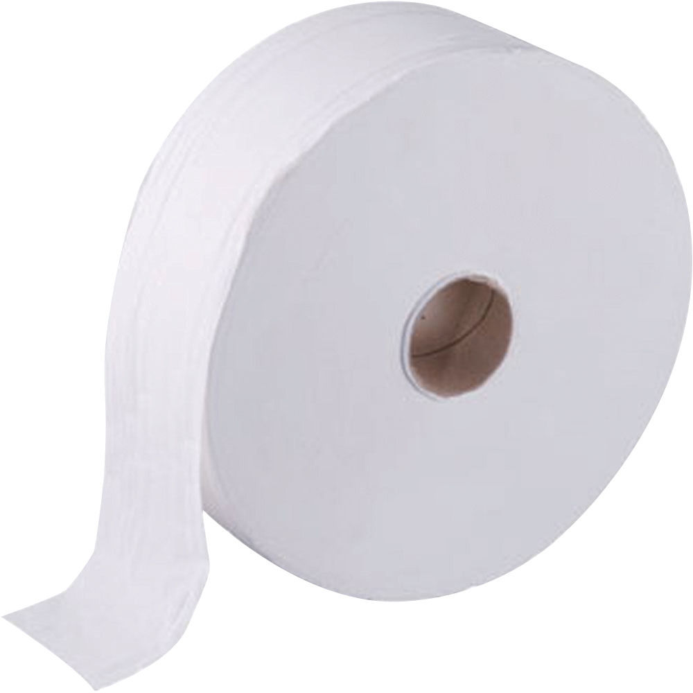 Maxima White 2-Ply Jumbo Roll Toilet Tissue - Pack of 6 - 1102046