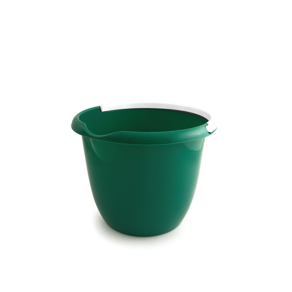 10 Litre Green Plastic Bucket - BUCKET.10G