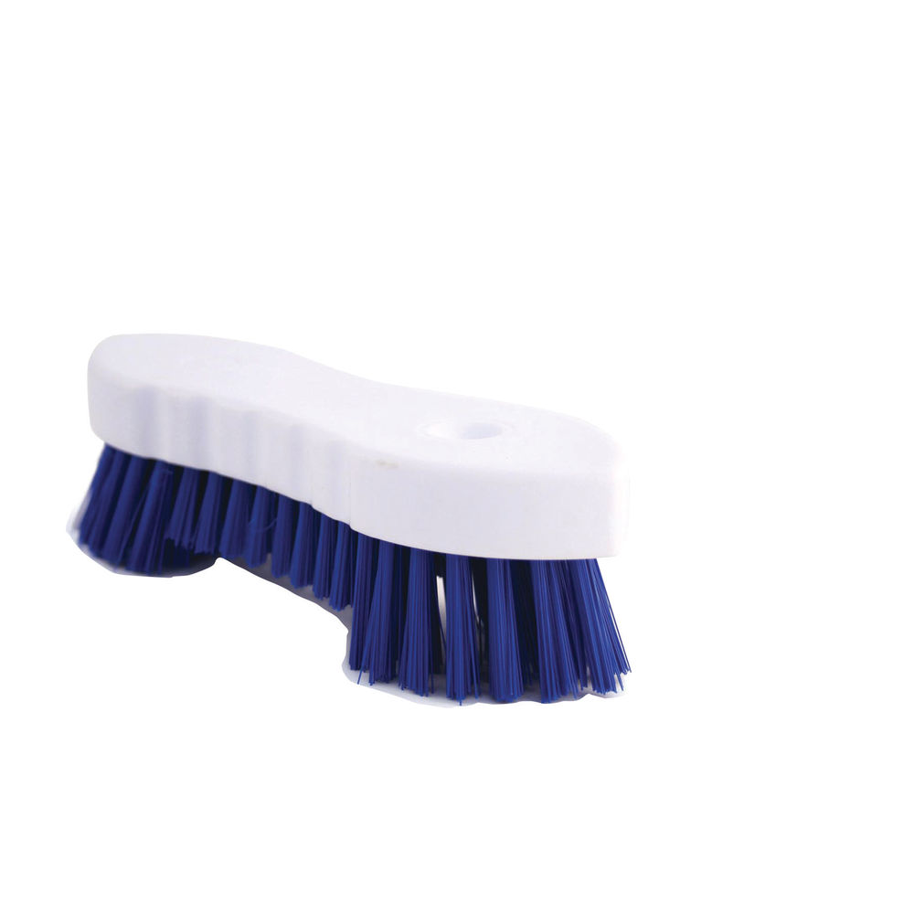 Blue Hand Held Scrubbing Brush - VOW/20164B