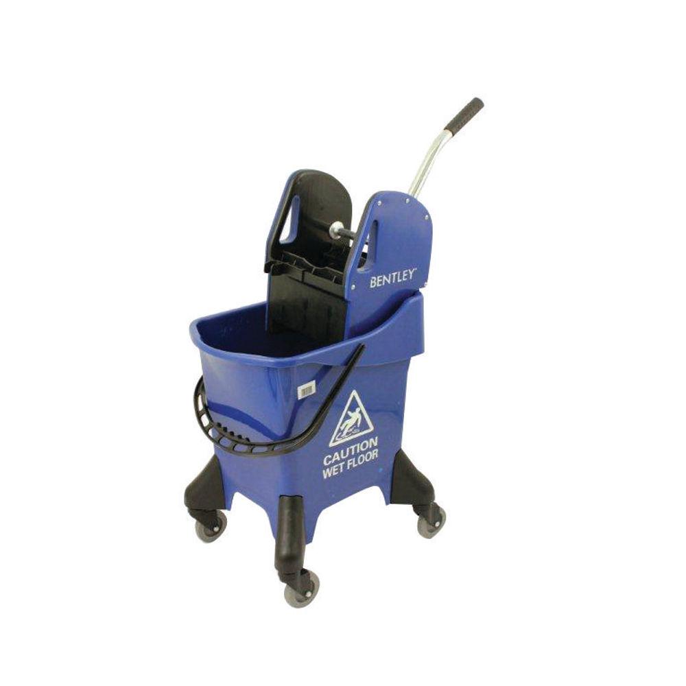 Hygineer Ergonomic Heavy Duty Mop Bucket Blue 31 Litre HRMB31/B