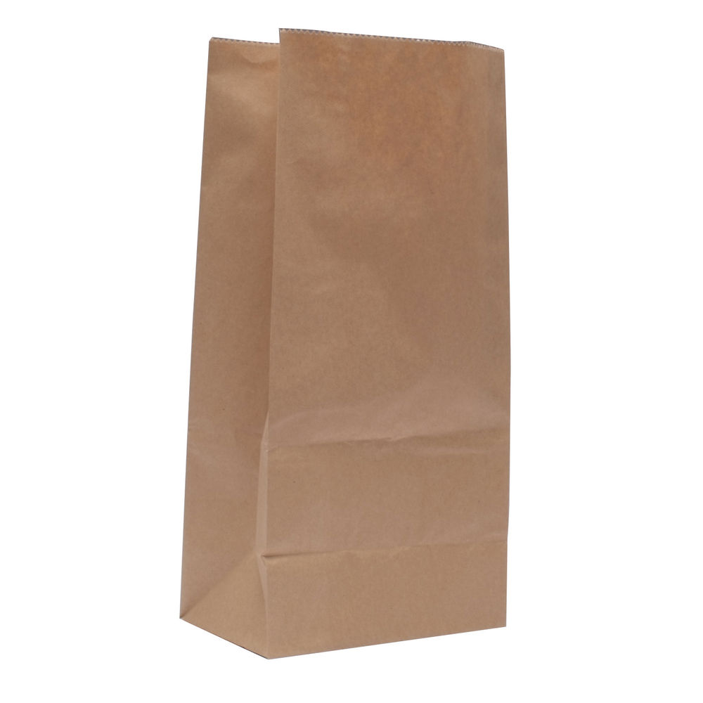 Brown 150 x 250 x 305mm Paper Bags, Pack of 500 - 302165