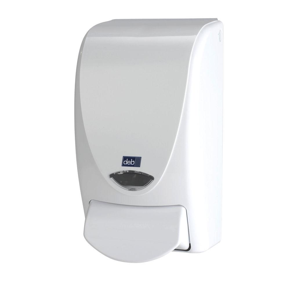 Deb Stoko Proline Soap Dispenser 1 Litre White WHB1LDS