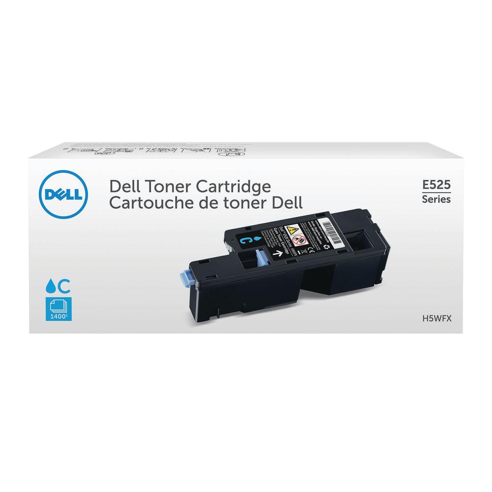 Dell E525W Cyan Toner Cartridge - 593-BBLL