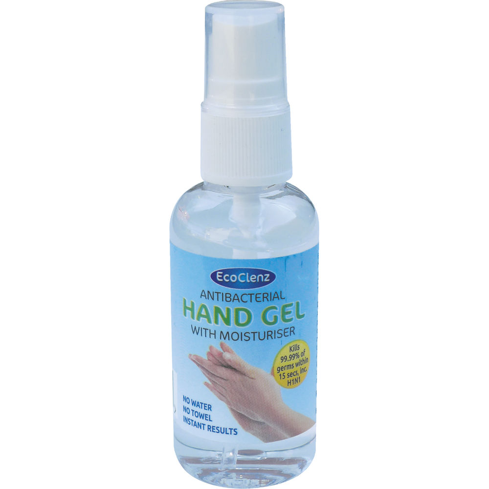 EcoClenz 50ml Antibacterial Hand Gel - HG50