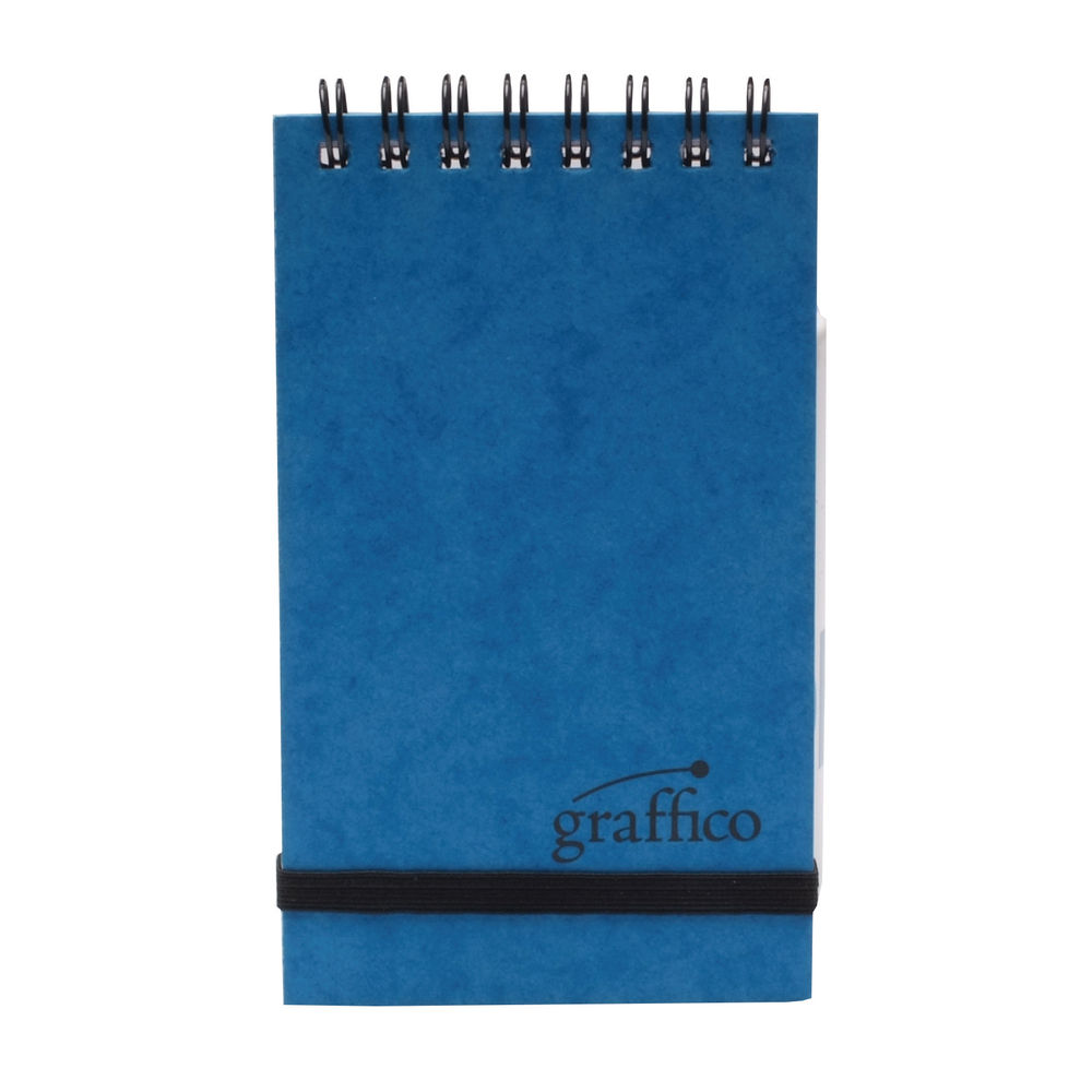 Graffico A7 Wirebound Ruled Pocket Notebook - EN12070