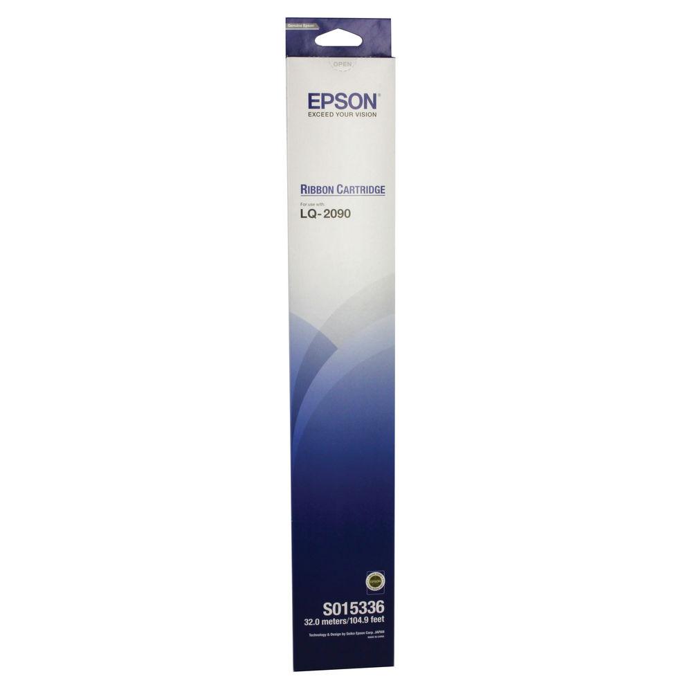 Epson LQ-2090 Black Fabric Ribbon - C13S015336