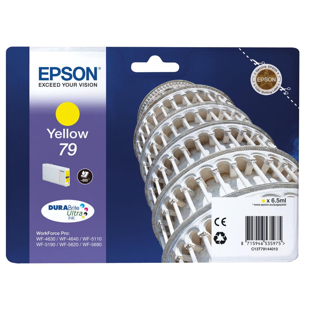 Epson 79 Yellow Ink Cartridge - C13T79144010