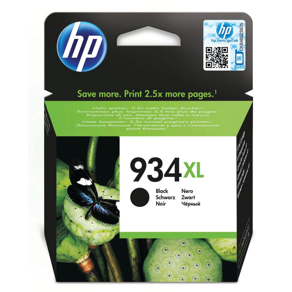 HP 934XL High Capacity Black Ink Cartridge | C2P23AE