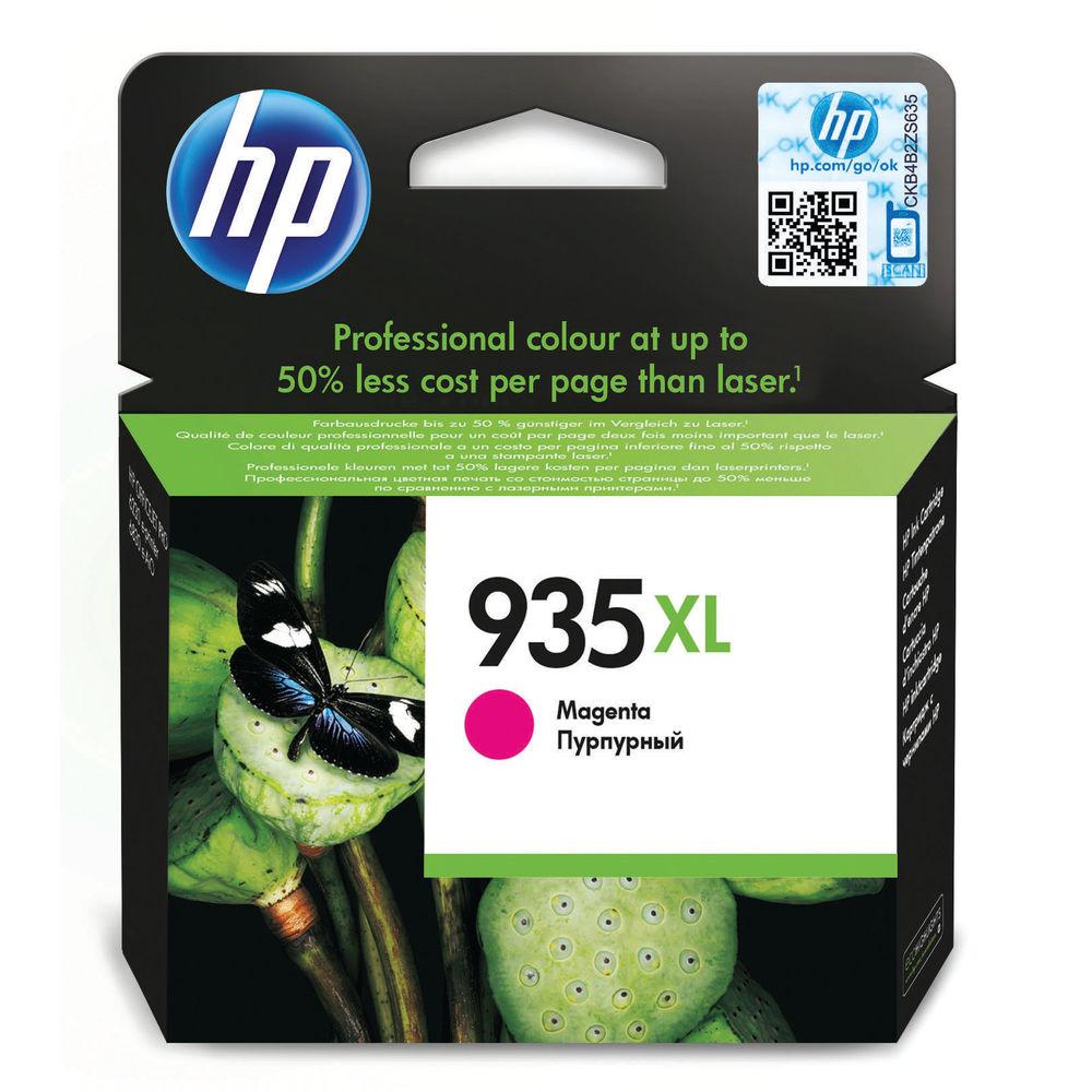 HP 935XL High Capacity Magenta Ink Cartridge - C2P25AE