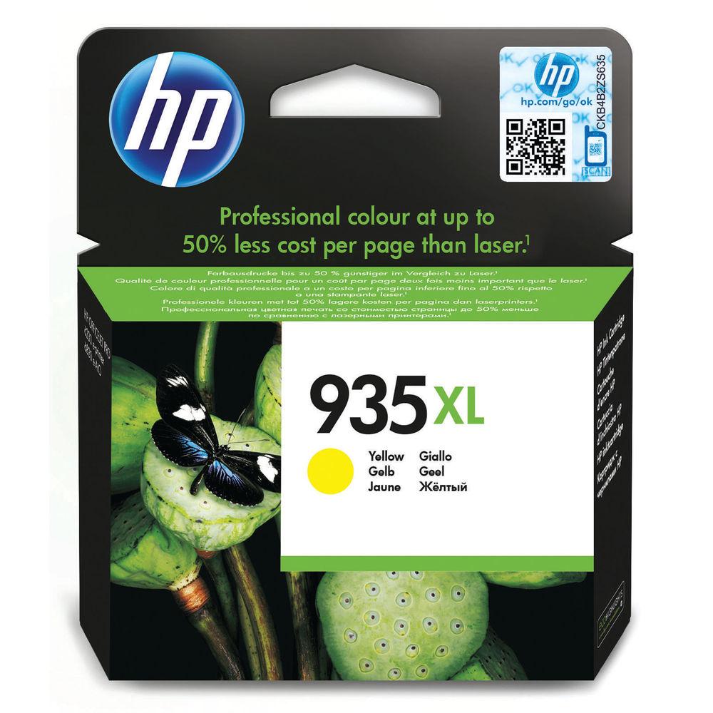 HP 935 XL Yellow Ink Cartridge - High Capacity C2P26AE